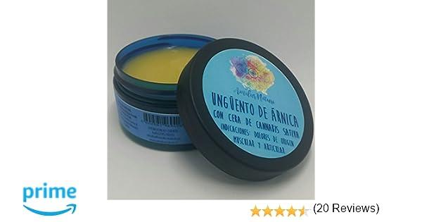 Ungüento de árnica - Dolor e inflamación muscular y articular - 100% natural y artesanal - 100 ml: Amazon.es: Belleza