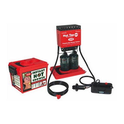 Hot Tap-HP Instant Hot Dbl Burner w/Piezo