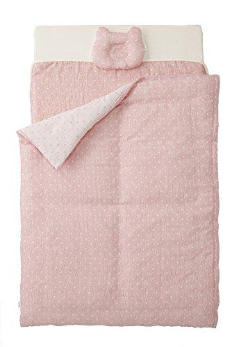 カトージ ベビーベッドにぴったり収まる オーガニックコットンのお布団(ピンク) 05489  ピンク B00Y2U3CTK