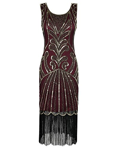 PrettyGuide Women 1920s Dress Beads Deco Inspired Cocktail for sale  Delivered anywhere in USA