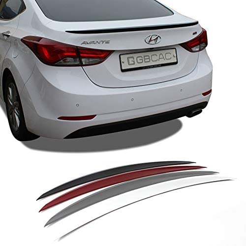 Factory Style Spoiler for the Hyundai Elantra Painted in the Factory Paint Code of Your Choice 509 S2R