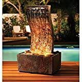 Sarah Peyton Home Slate Tower Fountain