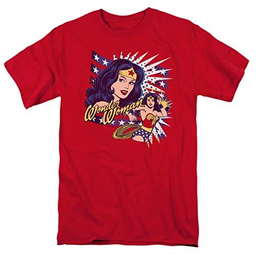 Wonder Woman Pop Art DC Comics T Shirt (X-Large) ()