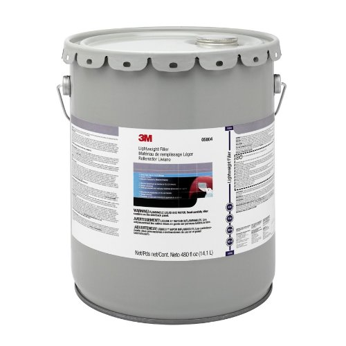 3M 05804 Lightweight Body Filler- 5 Gallon Pail by 3M