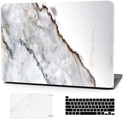 Amazon Com Funda Para Portátil Macbook Pro De 16 Pulgadas Cubierta De Teclado De Plástico Rígido Barra Táctil 3 En 1 Con Protector De Pantalla Para Mac Pro De 16 Pulgadas A2141 Mármol