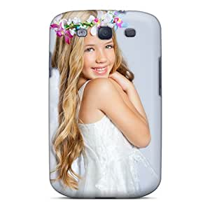 TCkWouV288CiceA RichJWen Angel Girl Durable Galaxy S3 Tpu Flexible Soft Case