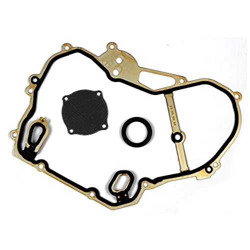Chevy V8 Timing (Vincos Timing Cover Gaskets Compatible with 2000-11 Chevrolet Pontiac Saturn 2.2L DOHC VIN l4F)
