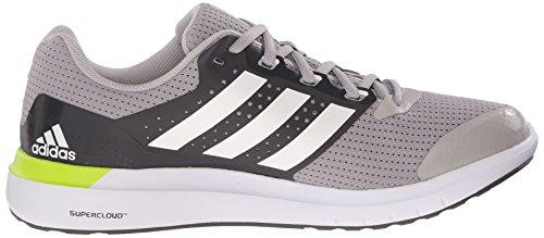 Adidas Performance Duramo 7 M zapatillas de running, negro / plata / gris, 6,5 M con nosotros Clear Granite Grey/White/Semi Solar Slime