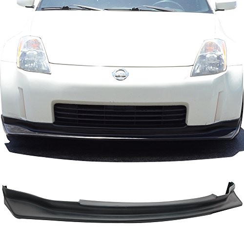 03-05 Nissan 350Z Z33 2 Door JDM N-Style Add-On Front Bumper Lip Urethane Front Fascia Replacement Kit