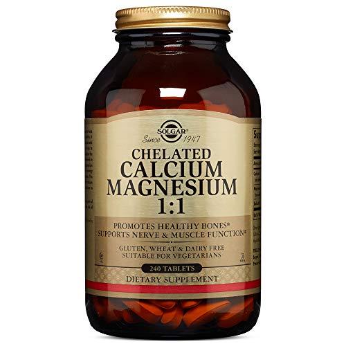 Solgar - Chelated Calcium Magnesium 1:1 240 Tablets