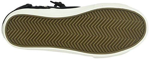 fuchsia schwarz Alte British Sneaker black Knights Nero Donna Rigit 03 YxwvH8