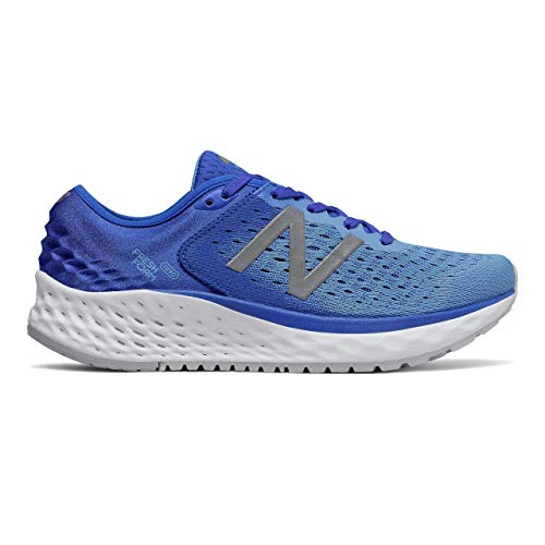 New Balance Women's 1080v9 Fresh Foam Running Shoe, Vivid Cobalt/Light Lapis Blue, 7 W US