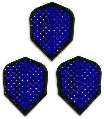 Dimplex Dart Flights (3 Sets of 3, 9 Total Flights) (Reflective -