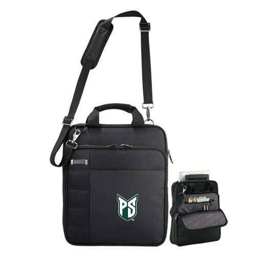 Portland State Kenneth Cole Black Vertical Checkpoint Friendly Messenger 'Official Logo' by CollegeFanGear