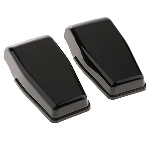 Homyl 1 Pair Rear Liftgate Window Hinge Protector (R&L) for Jeep Wrangler 2007-2017 – Black