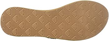 Roxy Women's Cabo Sandals Flip-flop, Tan, 7 M Us 2