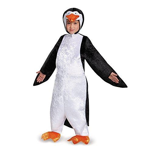 Disguise Skipper Deluxe Costume, Medium (7-8) (Penguin Costume Child)