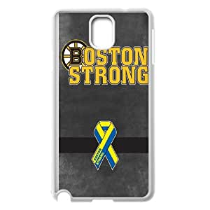 Boston Bruins Samsung Galaxy Note 3 Cell Phone Case White AMS0695515