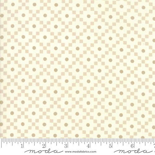 Walkabout Moda Quilt Fabric Floral Journey Ivory Style 37565/19