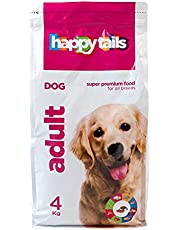 happy tails Adults Dry Food for Dogs, 4 Kilograms