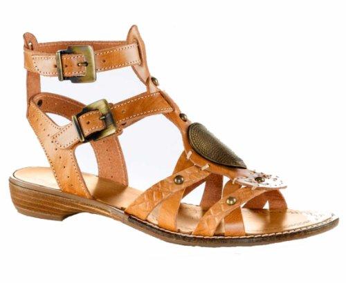 Rick Cardona Römer sandalette–Zapatos de mujer marrón Marrón - marrón