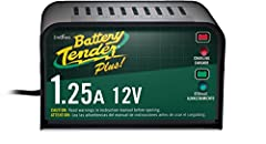 Battery Tender Plus 12V - 1.25A. The Battery Tender Plus is a 1.25-amp battery charger designed to fully charge a battery and maintain it at proper storage voltage without the damaging effects caused by trickle chargers. Included is a quick c...
