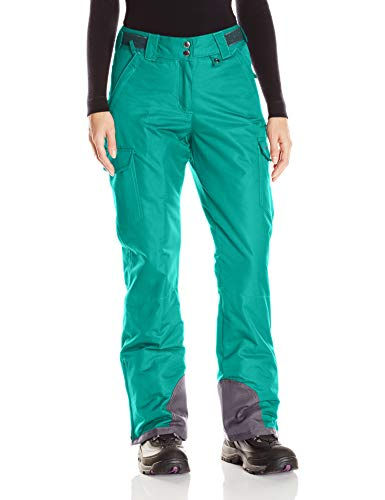 Arctix Women's Snowsport Cargo Pants, Medium, Kingfisher