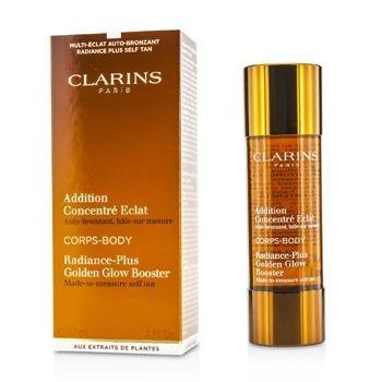 Clarins Radiance-Plus Golden Glow Booster For Body Full Size 30 mL / 1 FL.OZ. Brand New In Retail Box (Clarins Radiance Plus Golden Glow Booster Face)