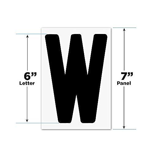 """6"""" Flex Letters - 279 pcs  Helvetica font 7"""" panel  Portable"""