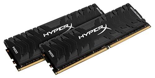 HyperX Predator 16GB  DDR4 2400MHz DRAM  CL12 1.35V Bla