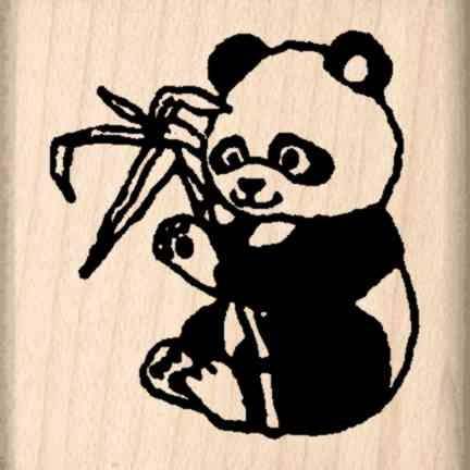 Stamps by Impression ST 0527 Panda Rubber Stamp