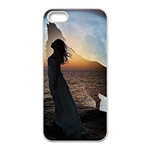 Dances with Wolves Customized Cover Case with Hard Shell Protection for Iphone 5,5S Case lxa#268929