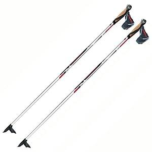 Alpina CX 10 100% Carbon Skate or Classic Cross Country Nordic Ski Poles, 155cm, Pr.