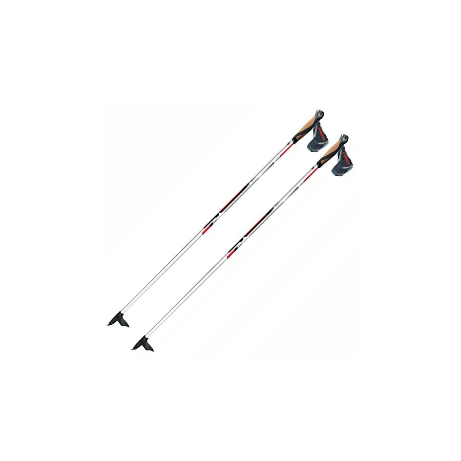 Alpina CX 10 100% Carbon Skate or Classic Cross Country Nordic Ski Poles, 155cm, Pr.