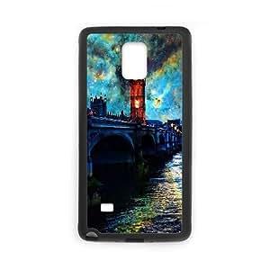 Samsung Galaxy Note 4 Cell Phone Case Black Fanasy Night In London JSK665775