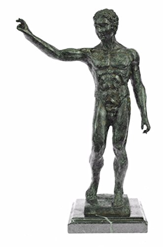 …Handmade…European Bronze Sculpture Nude Abstract Man Rodin Modern Art Marble Large (88029) Bronze Sculpture Statues Figurine Nude Office  Home D…