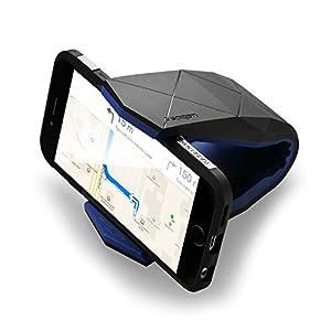 Spigen Kuel Stealth S40, Supporto Auto Smartphone, 2 angoli stesso comfort, Misura universale, Design intelligente 3 spesavip