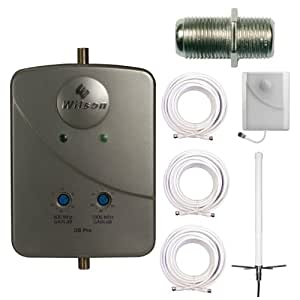 Wilson Electronics 801262 DB Pro CellPhone Booster for Large Home + Omni Antenna + Accessory Kit