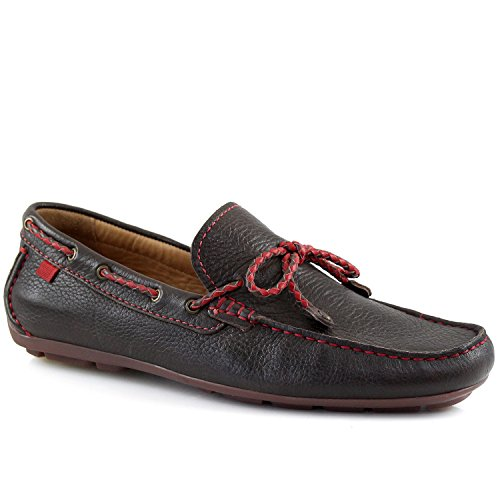 Marc Joseph New York Men's Cypress Hill Brown Grainy Braided Bow Loafer 11 by Marc Joseph New York