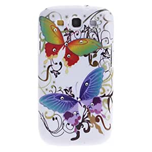 LIMME-Big Butterfly Pattern Hard Case with Rhinestone for Samsung Galaxy S3 I9300