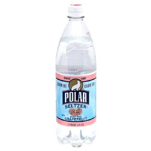 Polar Seltzer 33.8 Fl. Oz, (Pack of 12) (Ruby Red Grapefr...