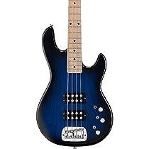 G&L Tribute L2000 Electric Bass Guitar Blueburst Maple Fretboard