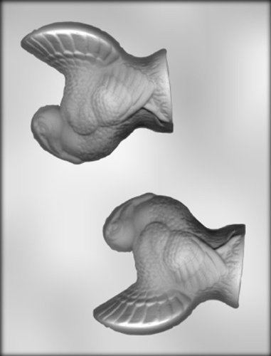 - CK Products 4-Inch 3-D Turkey Chocolate Mold