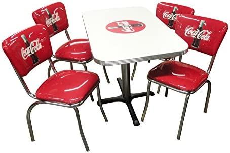 Vitro, ccrtc, Coca-Cola Juego de muebles de comedor con 24 ...