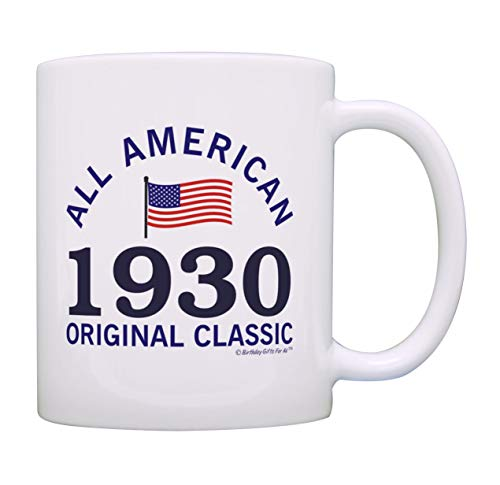 90th Birthday Gifts: All American Classic 1930 Mug