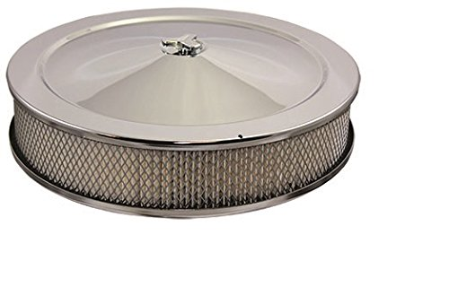 Mota Performance A10158 Chrome Air Cleaner 14