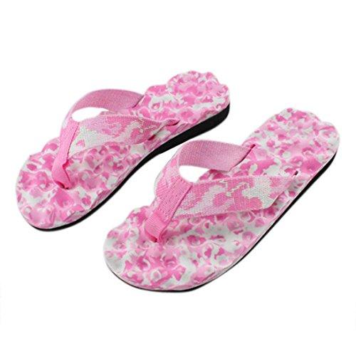 Zolimx Damen Sommer Flip Flops Frauen Schuhe Sandalen Slipper (36, Rosa)