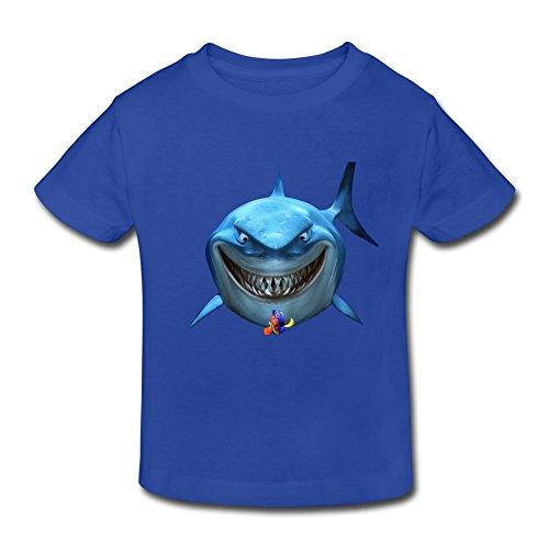 RenHe Toddler Retro Finding Nemo Icon T-shirts Size 2 Toddler RoyalBlue