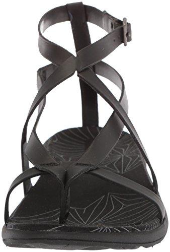 Black Thong Duskair Seaway Sandals Merrell LTR Women's Flat 1fwtxxH0q