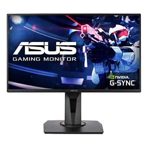 chollos oferta descuentos barato ASUS VG258QR Monitor de juegos de Esports de 25 pulgadas 24 5 pulgadas FHD 1920 x 1080 0 5 ms hasta 165 Hz DP HDMI DVI D bisel súper estrecho FreeSync luz azul baja sin parpadeo